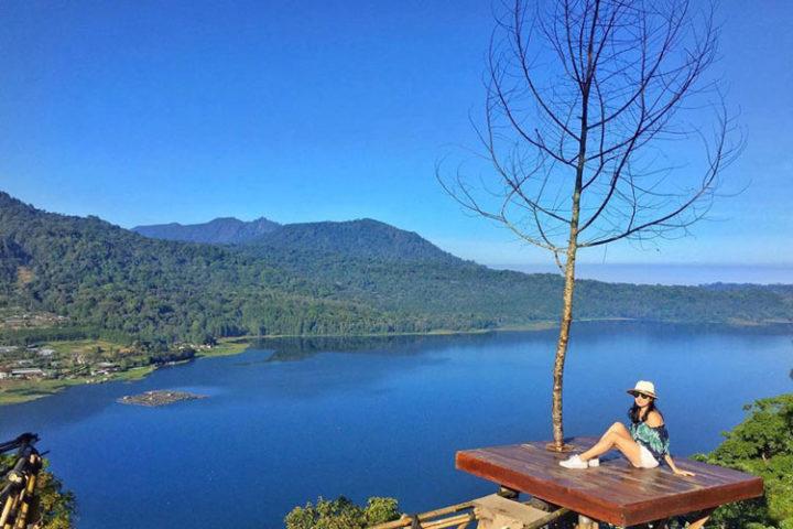 wanagiri village - twin lake