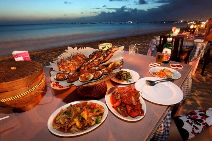 jimbaran bbq dinner